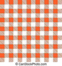 Tartan plaid seamless pattern. Kitchen red checkered...