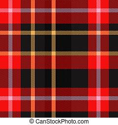 Tartan plaid texture - Tartan Scottish plaid material...