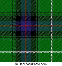 tartan., plano de fondo, donald, mac, jaula, escocés