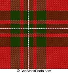 tartan., plano de fondo, mac, jaula, gregor, escocés