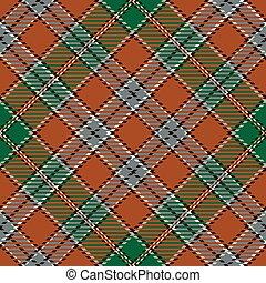tartan, seamless, パターン, 背景