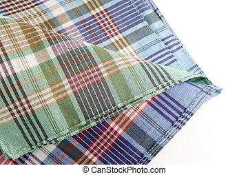 tartan table cloth