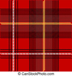 Tartan Texture - Abstract Background - Illustration of...