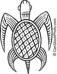 tartaruga, étnico