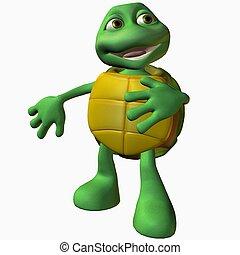 tartaruga, menino