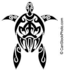 tartaruga, tatuaggio