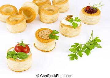 tartlets are ideal for appetizers or hors d'oeuvres