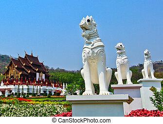 tartomány, május, horkumluang, chiang, thaiföld