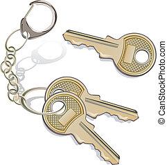 tas, clés