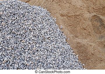 gravier sable construction tas image recherchez photos clipart csp22765276. Black Bedroom Furniture Sets. Home Design Ideas