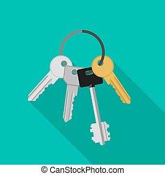 tas, keys.