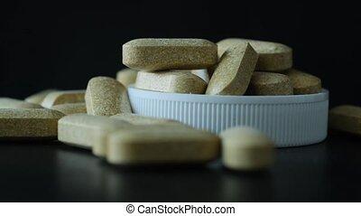 tas, pilules, vitamine