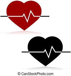 tasa corazón