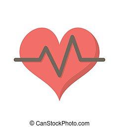 tasa corazón, icono