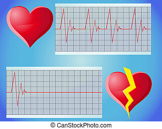 tasa corazón, pulso