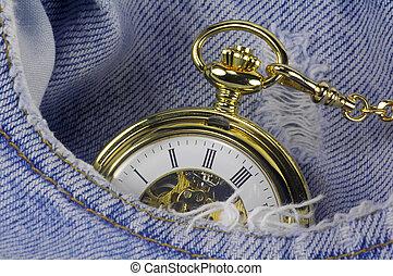tasca, 2, orologio