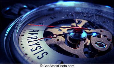 tasca, face., orologio, analisi