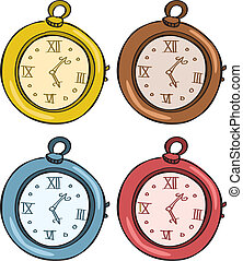 tasca, vendemmia, orologio