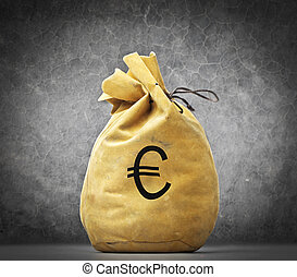 tasche, euros