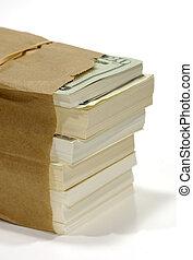 tasche, geld