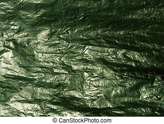 tasche, grün, beschaffenheit, plastik