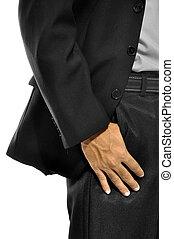 tasche, mann, geschaeftswelt, hand
