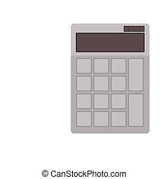 taschenrechner, vorrichtung, ikone