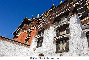tashilhunpo, 修道院