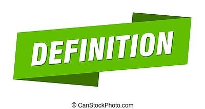 tasiemkowa chorągiew, template., rzeźnik, definicja, ...
