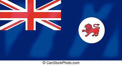 Tasmania Flag - The flag of the country of Tasmania