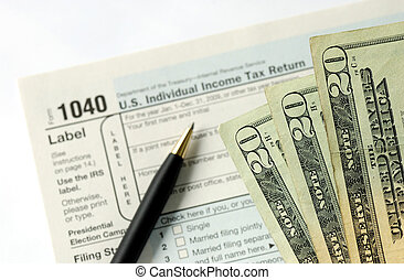 tassa, mano, ritorno, limatura, reddito