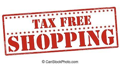tassa, shopping, libero