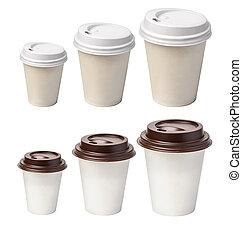 tasse, isolé, café