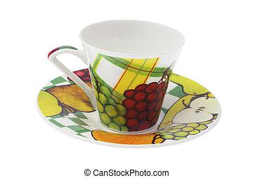 tasse thé, soucoupe