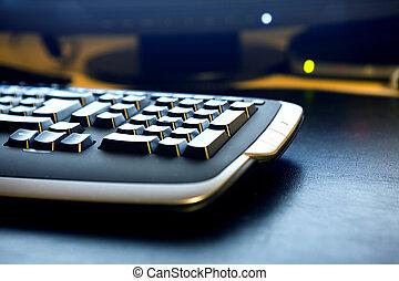 tastatur, detail