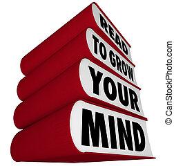 taste, lezen, -, verstand, groeien, boekjes , jouw