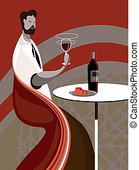 Taste wine