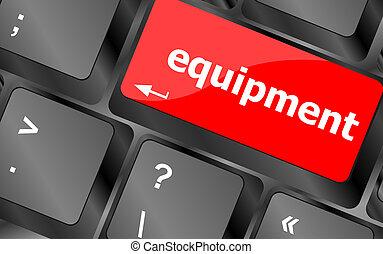 tastiera computer, chiave, con, apparecchiatura, parola