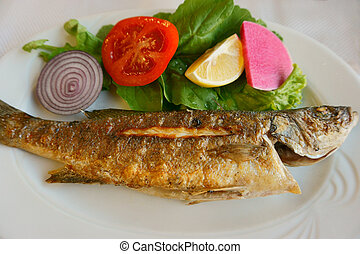 tasty and useful fried fish