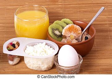 Tasty Breakfast. Healthy food