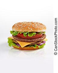 burger - Tasty burger close up