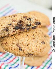Tasty chocolate chips cookies