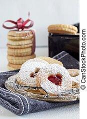 """Tasty cookies called """"Linzer augen"""" - sweet gift"""