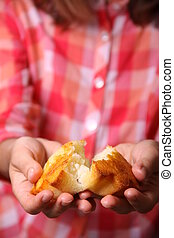cupcake in female hands