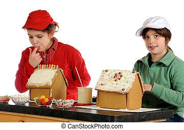 Tasty Gingerbread Houses
