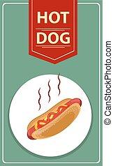 Tasty Hot-Dog.
