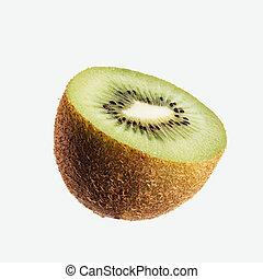 Tasty kiwi fruit close up