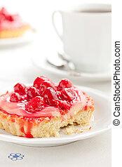 tasty strawberry pie
