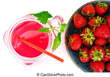 Tasty Sweet Strawberry Compote