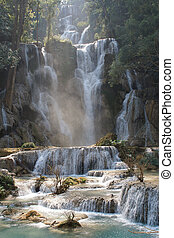 Tat Kuang Si Waterfall, Laos